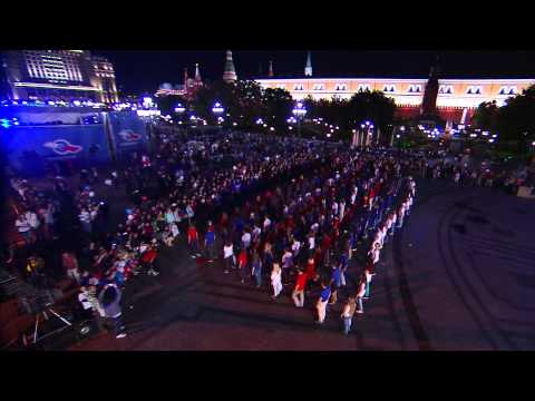 Триколор TV и Танцующий Город. Флешмоб на Манежной площади