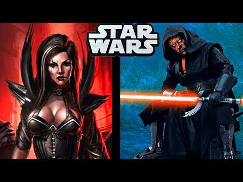 MAUL'S NEW CRUSH BEFORE THE CLONE WARS!! - Star Wars Comics Explained