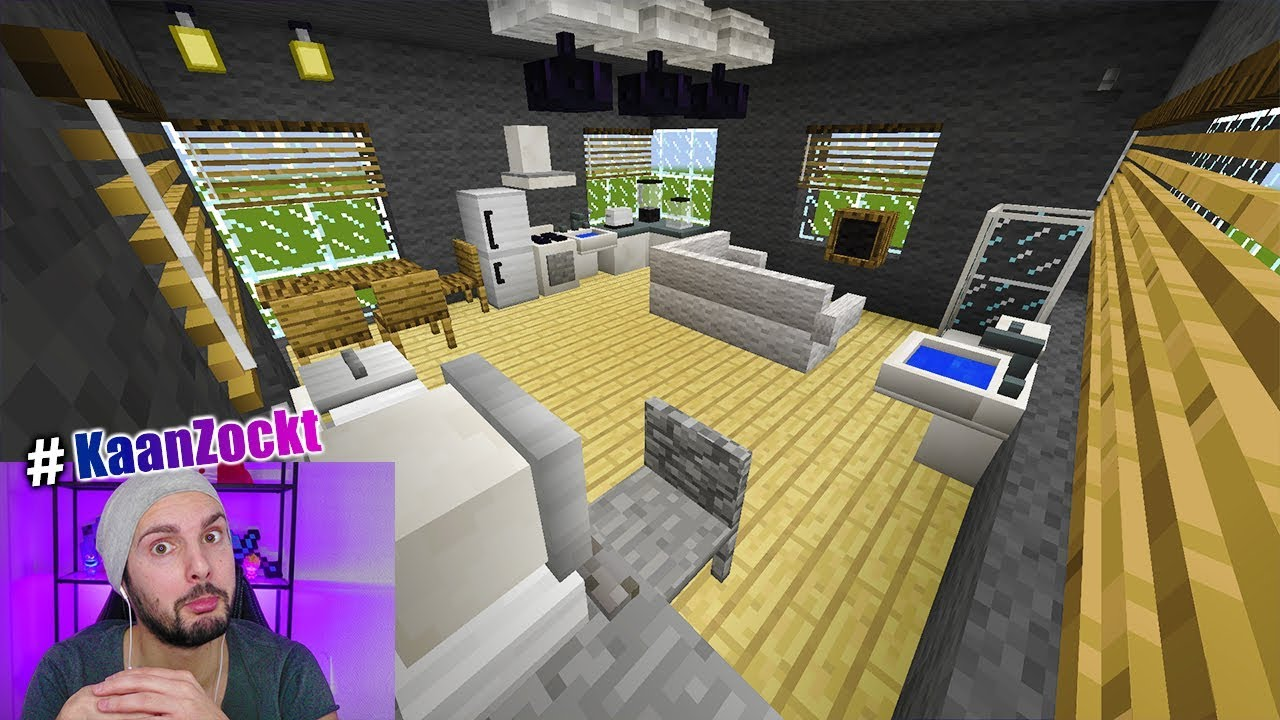 Moderne Wohnung In Minecraft Bauen Furniture Mod Mit Mobeln Im
