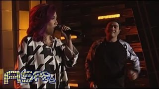 Yeng Constantino sings 'Takip Silim' with Gloc 9