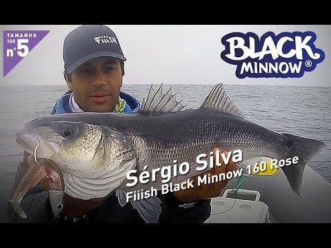 Sérgio Silva - Fiiish Black Minnow 160 Rose - Offshore 60g