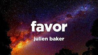 Julien Baker - Favor (Lyrics)