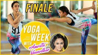 Yoga Week With Amruta Khanvilkar | Episode 4 | Finale | Bow Pose Asana