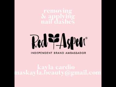 MasKayla: Red Aspen Nail Dash Removal & Application