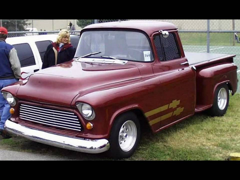 tri five chevrolet pickup trucks youtube. Black Bedroom Furniture Sets. Home Design Ideas