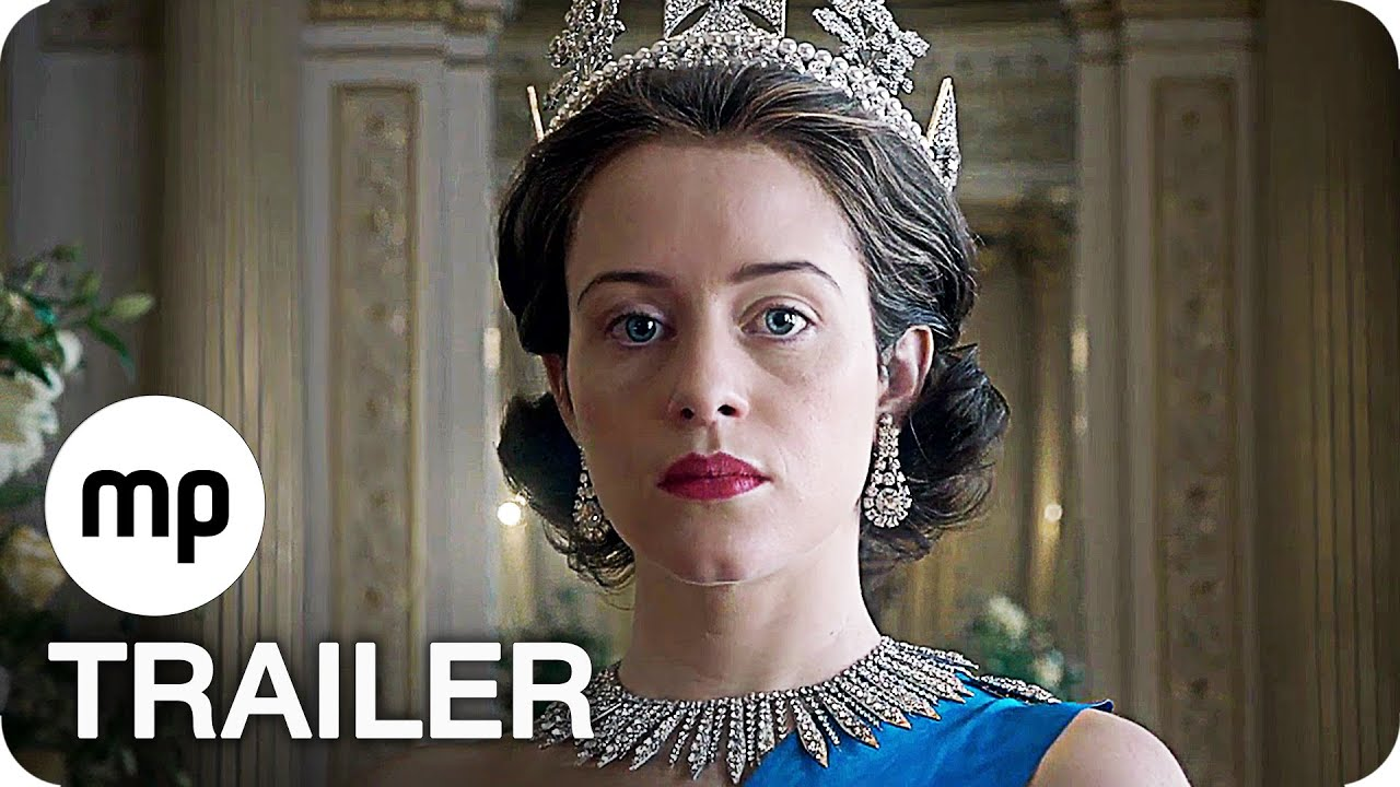 THE CROWN Staffel 1 TRAILER German Deutsch (2016) Netfl ...