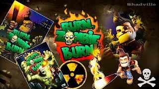 Burn Zombie Burn! Прохождение игры. Гори, Зомби, гори!