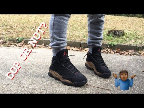 e8ced34fef2 Jordan 13 Olive Review & On Feet - YouTube