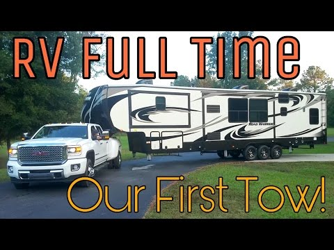 Our First Tow | RV Living Full Time | 30. Road Warrior Life