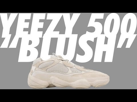 6c200bc8fe853 REVIEW  YEEZY 500 BLUSH   DESERT RAT!