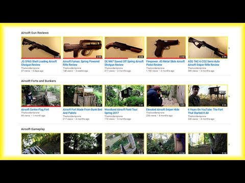Airsoft Video Playlists