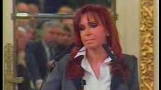 Fragmento del discurso de Cristina