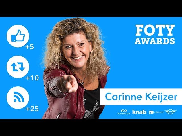 FOTY Awards | Corinne Keijzer (sectorwinnaar)
