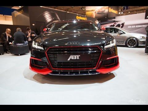 Essen Motor Show 2014: neuer Audi TT von ABT sportsline Vorstellung