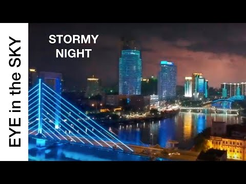 An Eye in the Sky Over China: A STORM BREWS OVER NINGBO