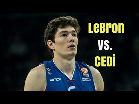 CEDI OSMAN VS LEBRON JAMES!!!