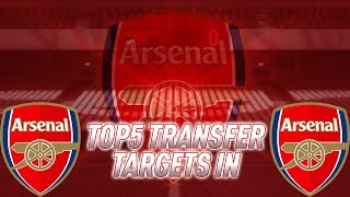 Top 5 Potential Arsenal January Signings Transfers Rumours