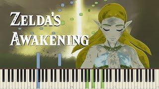 Zelda's Awakening - Breath of the Wild (Memory #17) [Piano Synthesia tutorial]
