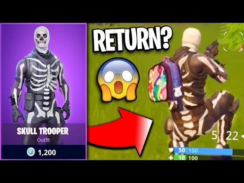 When is the Skull Trooper Coming Back Out to Fortnite? - Skull Trooper Fortnite Coming Back? (2018)