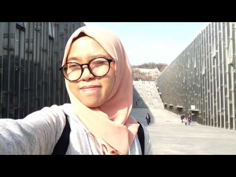 Seoul Trip - Day 1 - Incheon Airport, Ewha Womans University, Hongdae.