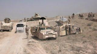 القوات العراقية تدخل مناطق الفلاحات والصبيحات