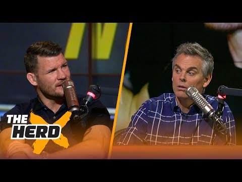 Michael Bisping talks UFC 217, Conor McGregor and more with Colin Cowherd | THE HERD