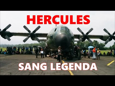 Menyaksikan Pesawat Hercules Di Malang