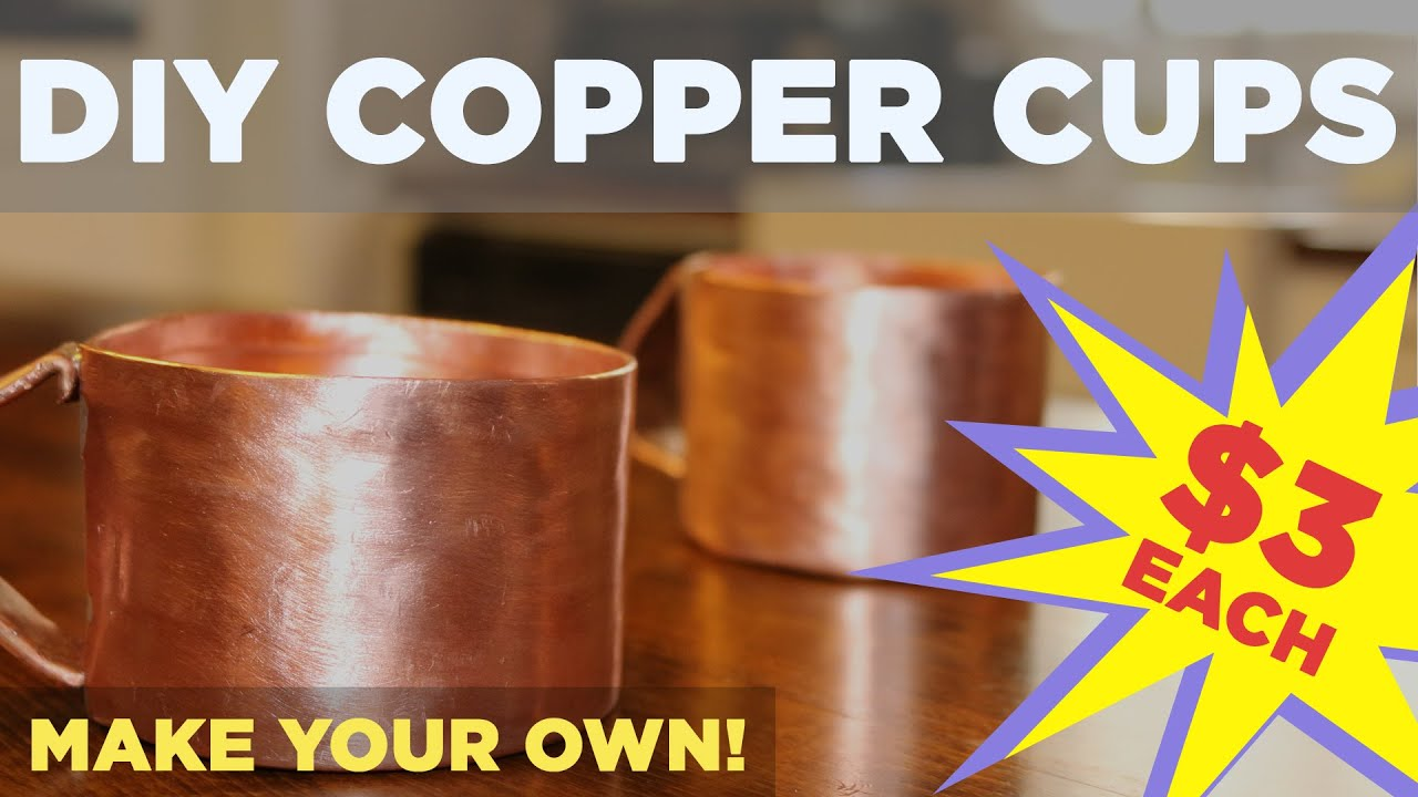 Diy Copper Mug For Moscow Mule Made From 3 4 Pipe Youtube Designed Antique Electrical Our Provided Pipes Are More