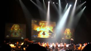 E3 2012 skyrim main theme live orchestra epic music concert videogames live, i recorded the video myself at june 6 videogameslive games concert, this f...
