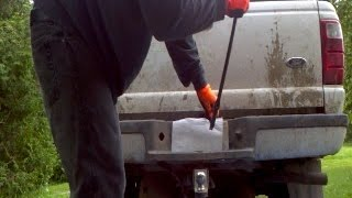 how to remove spare tire jack points ford ranger