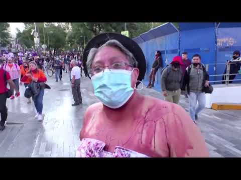 Mexicans protest against violence against women
