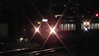 信越線 横川駅に集まる107系、211系、115系(夜間滞泊)2017年1月