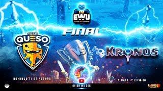 GRAN FINAL Torneo EWU $2,000 Dolares en PREMIOS | Clash of Clans