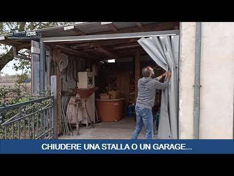 CHIUDERE IL GARAGE O LA STALLA IN MODO SEMPLICE