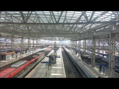 코레일 서울역 고정촬영 (Korail Seoul station fixed camera view)