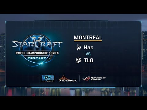 Has vs TLO PvZ - Group F Stage 3 - WCS Montreal 2017 - StarCraft II