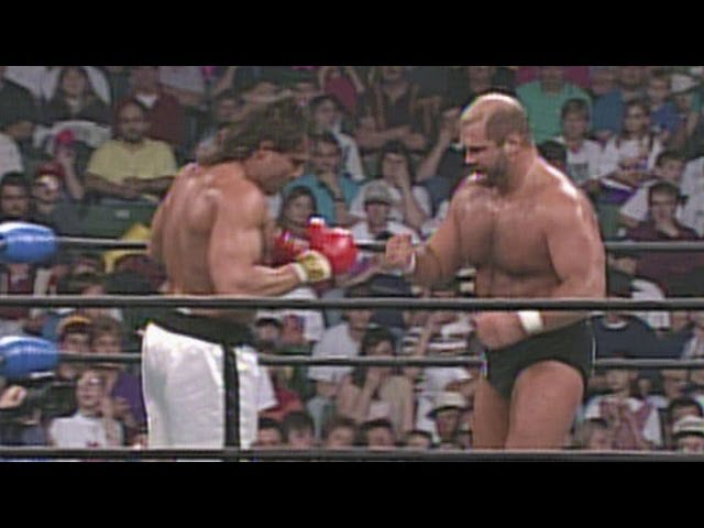 Johnny B. Badd vs. Arn Anderson - Boxer vs. Wrestler Match: