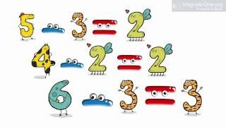 Урок 39 Математика 1 клас. Дія віднімання. Назви компонентів і результату дії віднімання.