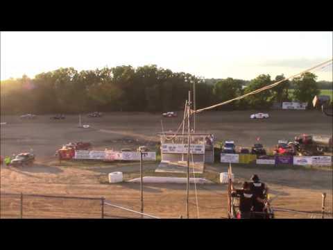 Butler Motor Speedway Street Stock Heat #2 7/9/16