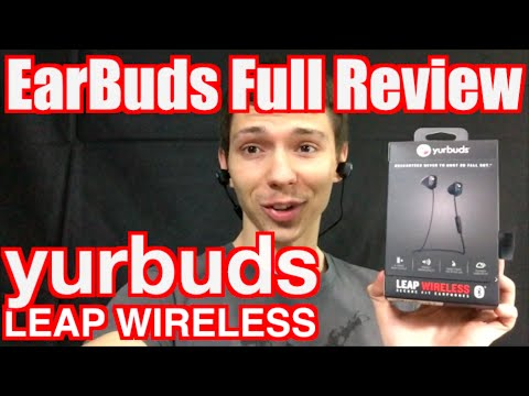 yurbuds Leap Wireless Review and Unboxing