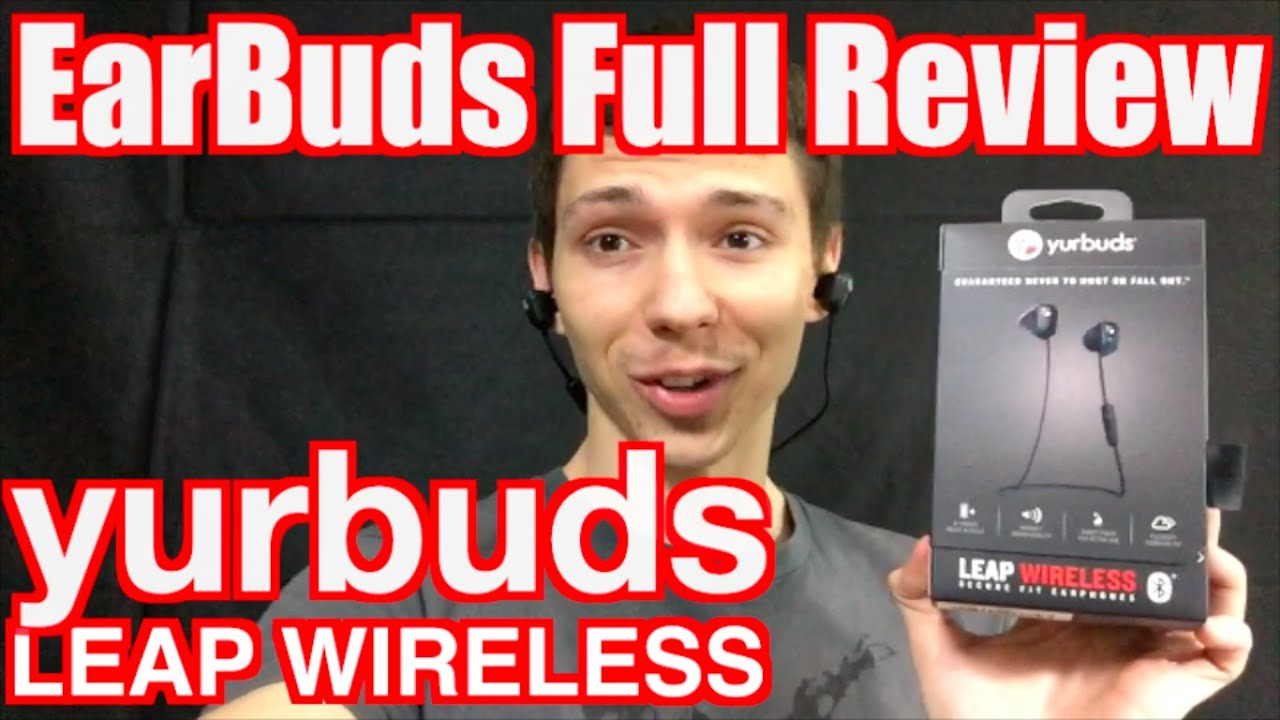 a6fcabefb84 yurbuds Leap Wireless Review and Unboxing - YouTube