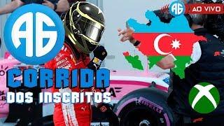 F1 2018 CORRIDA DOS INSCRITOS - GP DO AZERBAIJÃO - CORREMOS EM CASA (Português-BR) MULTIPLAYER 50%