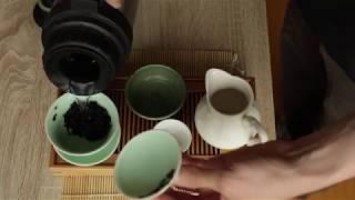 Розпакування та тестування чаю - Шу Пуер Та Ху Я