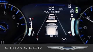 homepage tile video photo for Chrysler Pacifica   Adaptive Cruise Control