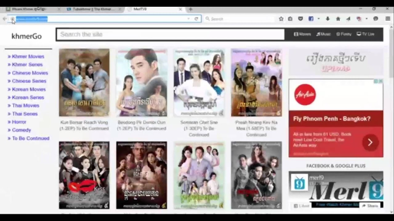 Best website free download Thai movies (Khmer) by Mario KH