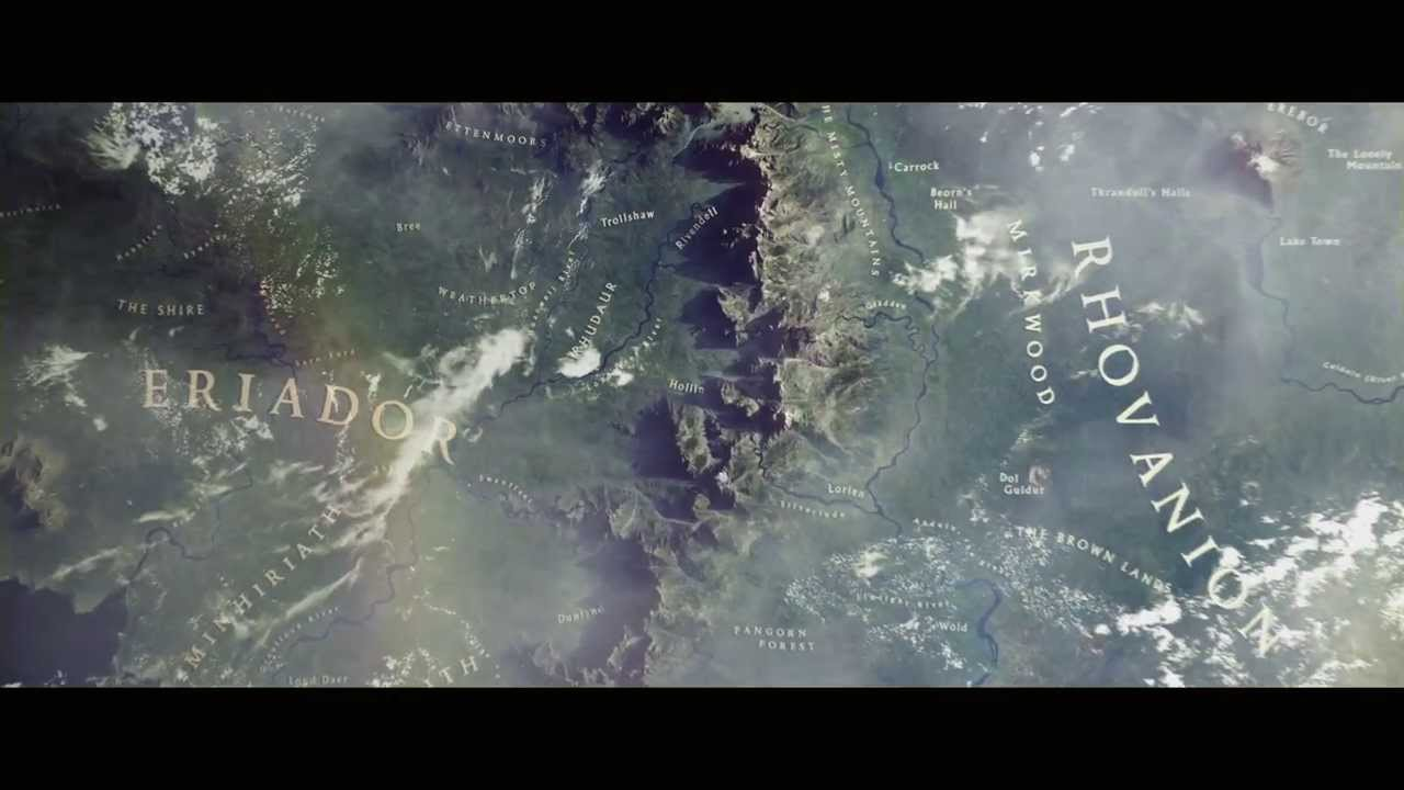 Google Maps Adds DragonsEye Views Of Tolkiens Middle Earth – 3d Map of Middle Earth