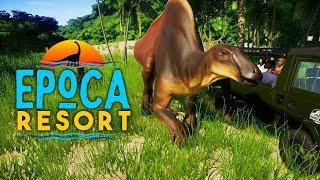 DINOSAURS IN THE DESERT! Final Build! | Época Resort (Jurassic World: Evolution)