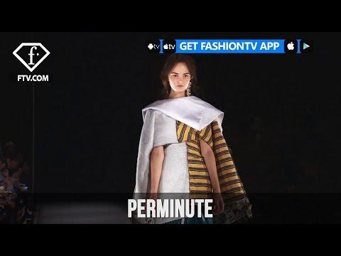Tokyo Fashion Week Spring/Summer 2018 - PERMINUTE | FashionTV