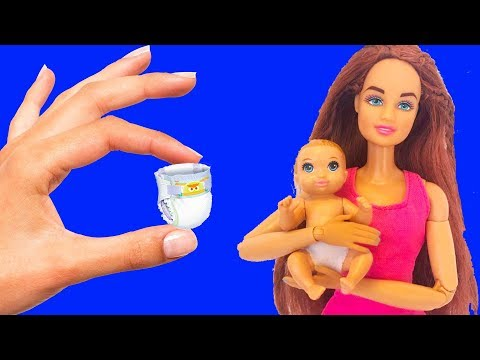 DIY Pregnant Barbie Doll | How To Make DIY Pregnant Barbie