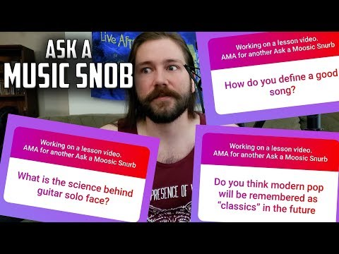 What Makes a Good Song and Writing Better   Ask a  Snob